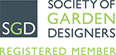 Registered Member of The Society of Garden Designers